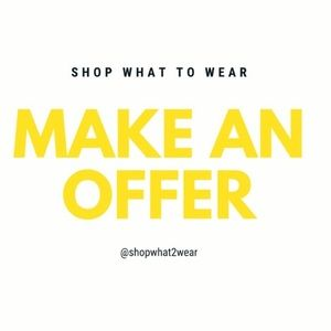 Other - REASONABLE OFFERS ACCEPTED 🛍